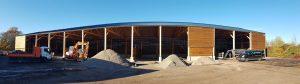 Bâtiment de stockage bois - Nièvre